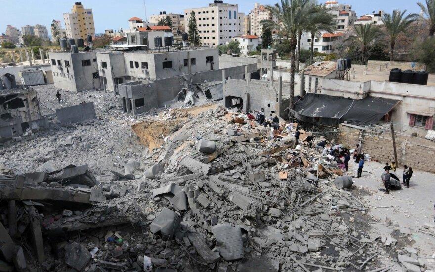 Tarp palestiniečių ir Izraelio – didelis karo veiksmų paūmėjimas