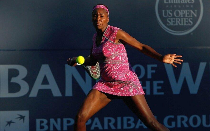 V. Williams – turnyro JAV ketvirtfinalyje