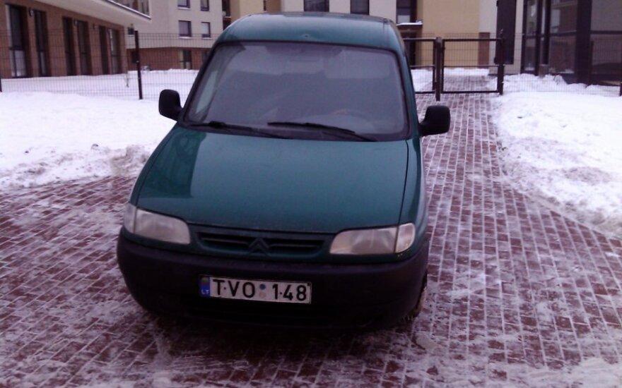 Vilniuje, Bajorų kelias. 2012-01-20