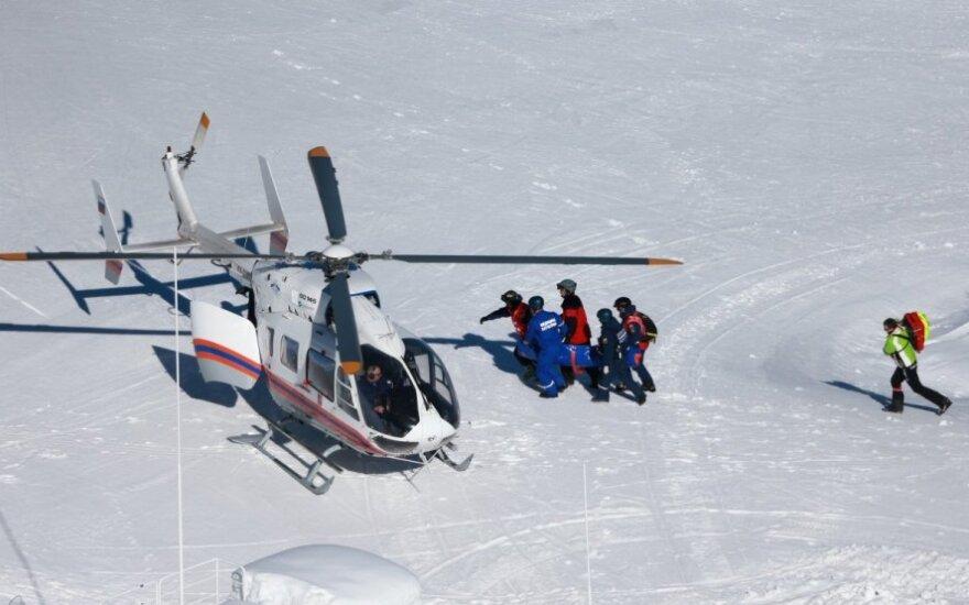 Monako kalnų slidininkė palieka Sočį – jai varžybose lūžo koja
