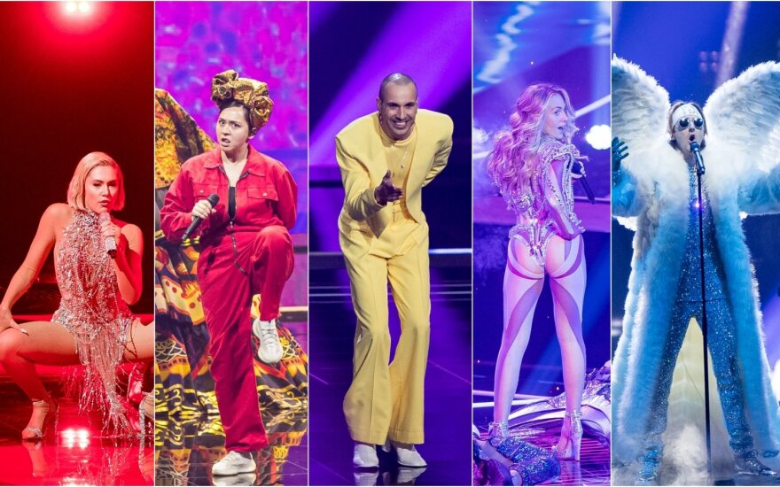 Eurovizija 2021 Roterdame. Pirmasis pusfinalis