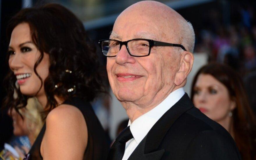 Rupertas Murdochas ir Wendi Deng