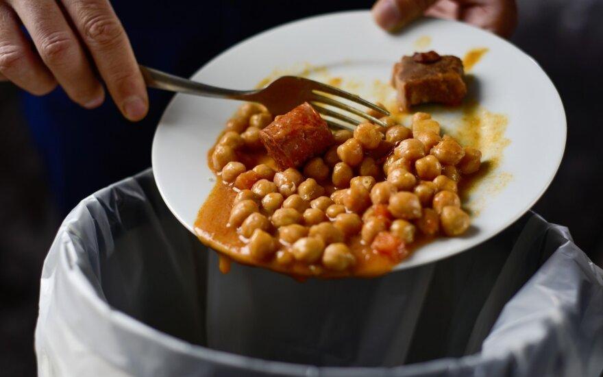 Namuose vis lieka maisto likučių – kaip su jais pasielgti ir kokios naujovės laukia vilniečių?