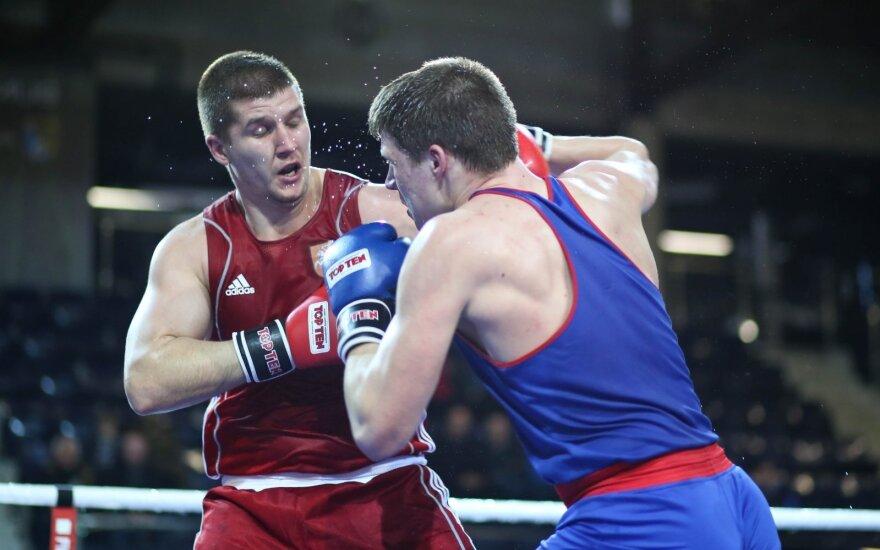 Europos bokso čempionate – M. Valavičiaus nesėkmė
