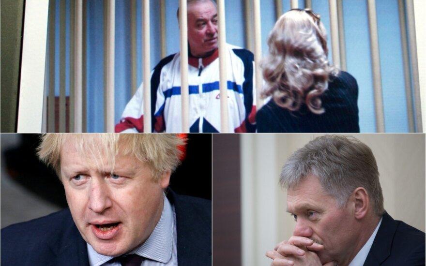 Įtampa auga: britai rusus kaltina absurdu, rusai reikalauja atsiprašymo