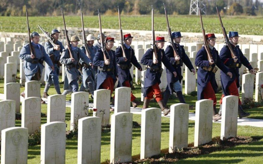 Pirmojo pasaulinio karo aukų kapinės Didžiojoje Britanijoje