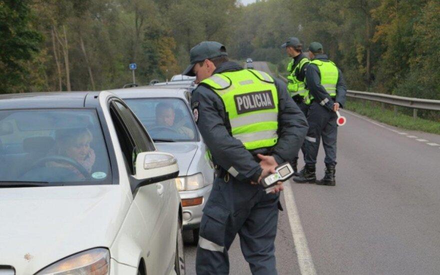 Policijos reidas Klaipėdos r.