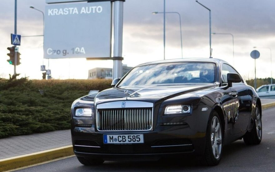"""""""Rolls-Royce Wraith"""""""