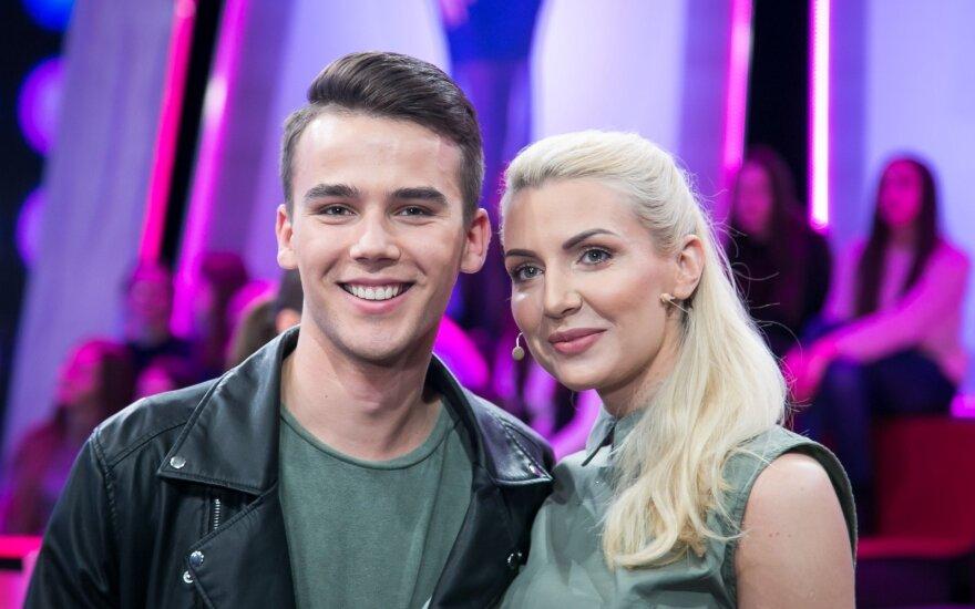 Audrius Janonis ir Monika Šedžiuvienė
