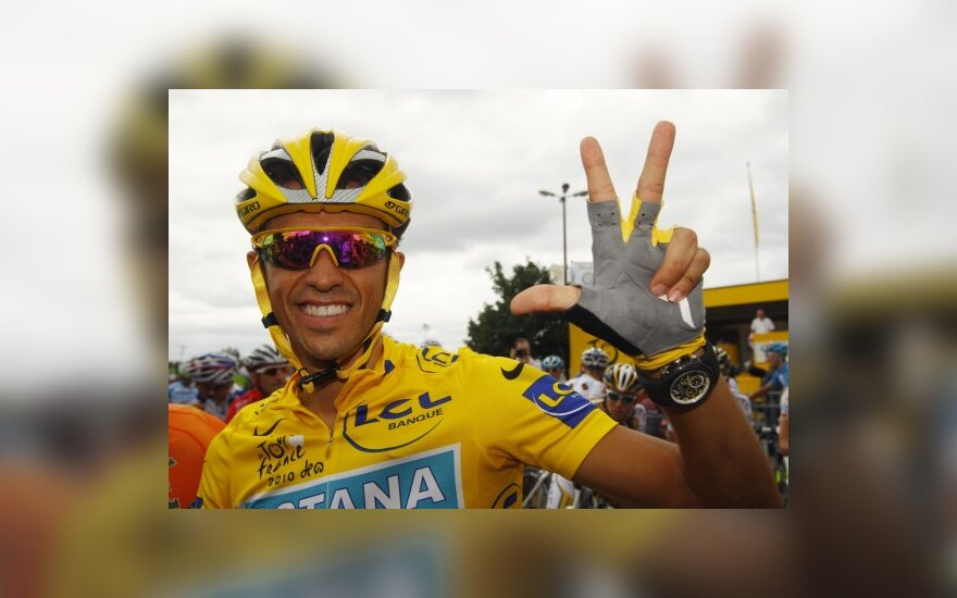 "Alberto Contadoras - 2010 metų ""Tour de France"" čempionas"