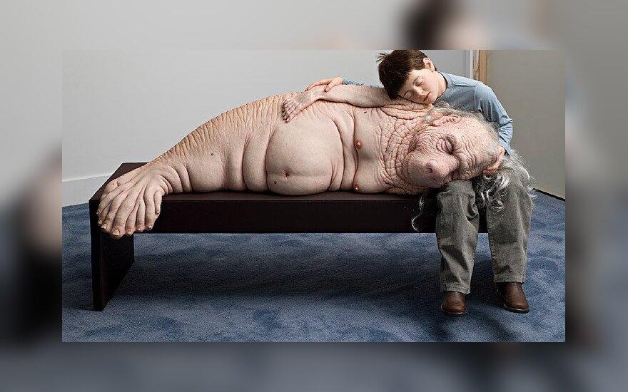 Mutantų skulptūros privers giliau įkvėpti oro 9-oje Kauno bienalėje: unitekstas