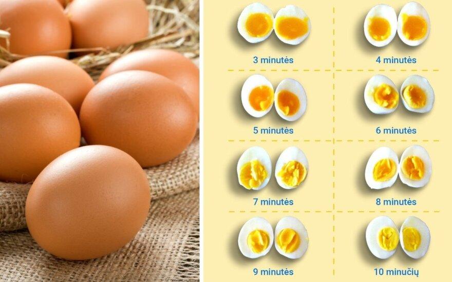 Kiaušinių virimas