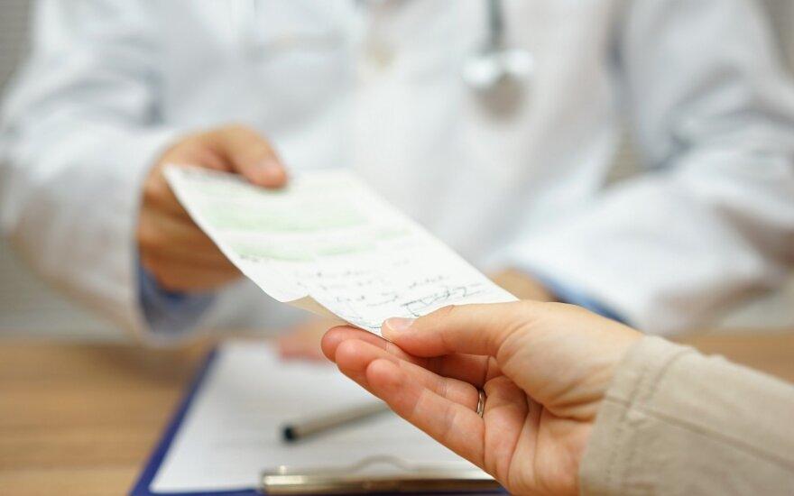 Pacientė pas gydytoją