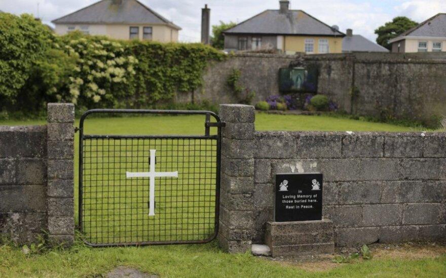 Dublinas pradeda nuodugnų tyrimą dėl katalikiškų kūdikių namų