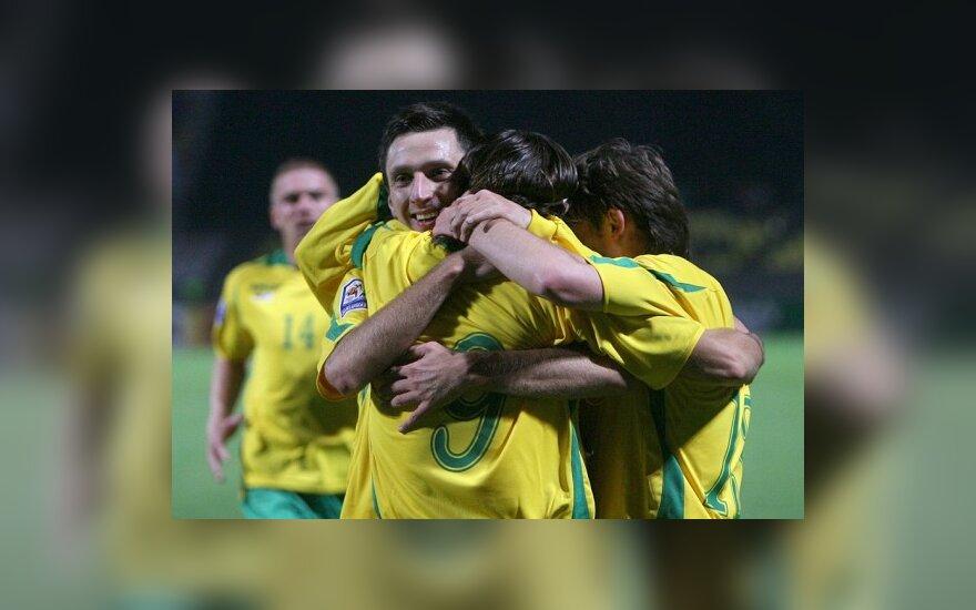 Lietuvos rinktinė Portugalijoje 3:1 nugalėjo Andoros futbolininkus