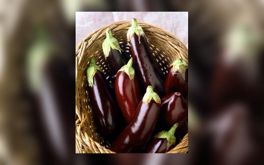 Baklažanai, daržovės