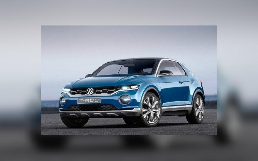 """Koncepcinis """"Volkswagen T-Roc"""""""