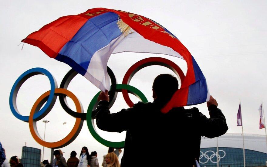 Rusijos vėliavos artimiausiose dviejose olimpiadose nebus