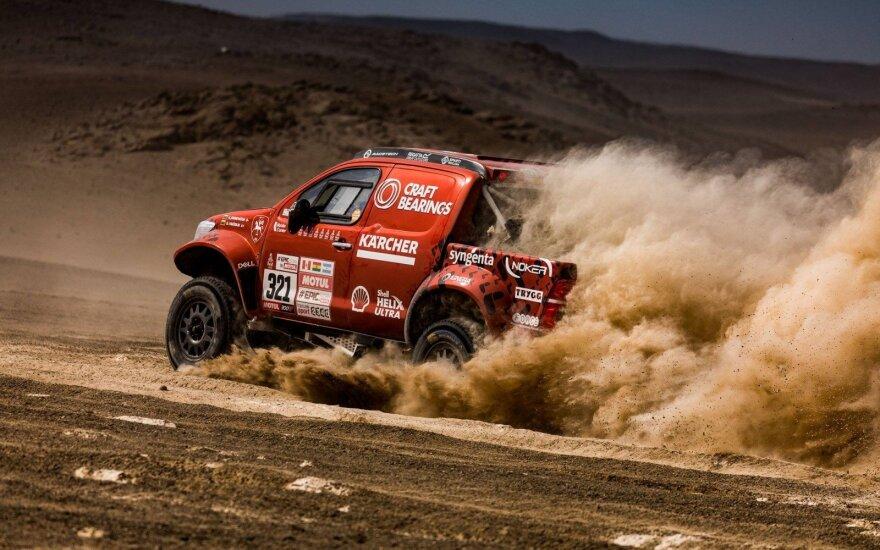 """Paaiškino, kodėl Lietuva negali turėti """"Dakaro rinktinės"""""""
