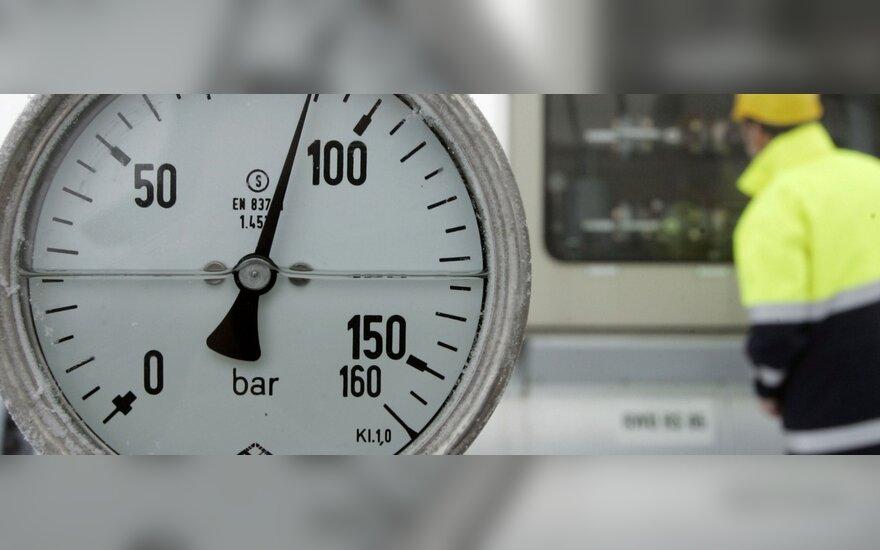 """Balandį """"Gazprom"""" dujų eksportas į Europą išaugo 20 proc."""