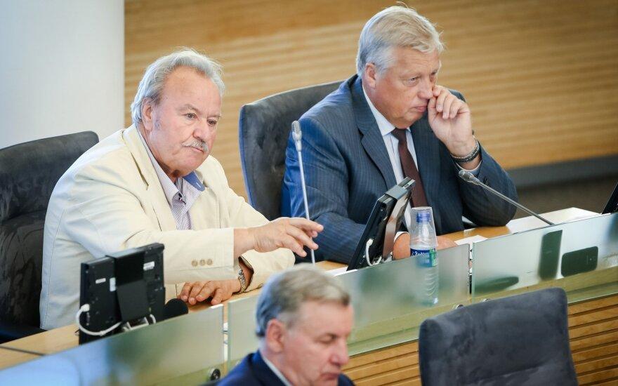 Bronius Bradauskas ir Albinas Mitrulevičius
