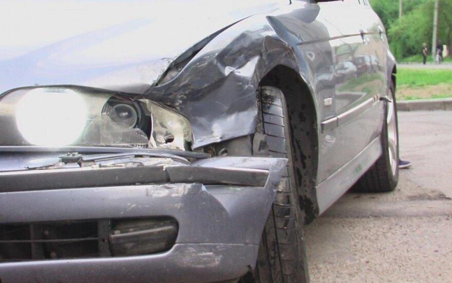 Klaipėdoje 5 metų vaiką partrenkęs BMW vairuotojas spruko