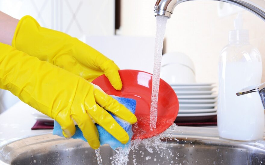Chemiją indams plauti gali pakeisti indų plovimas indaplovėje