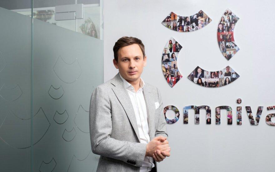 Omniva LT vadovas Simonas Bielskis
