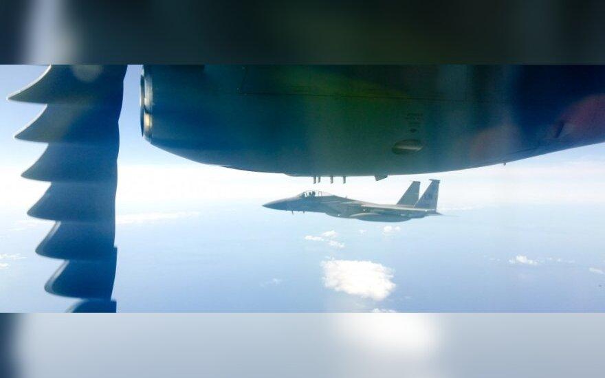 Šventės pradžią skelbs NATO sąjungininkų naikintuvai