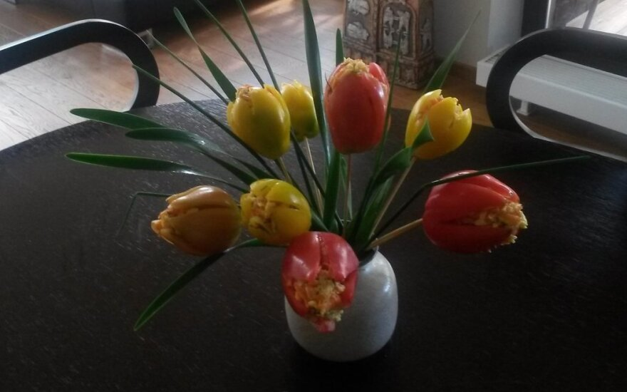 """Velykinės """"tulpės"""""""