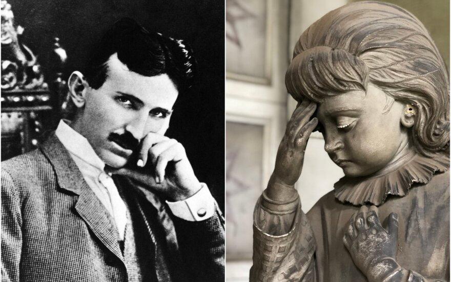 Nikola Tesla taip nemėgo Edisono, kad kitą dieną po jo mirties, išradėją išdėjo į šuns dienas