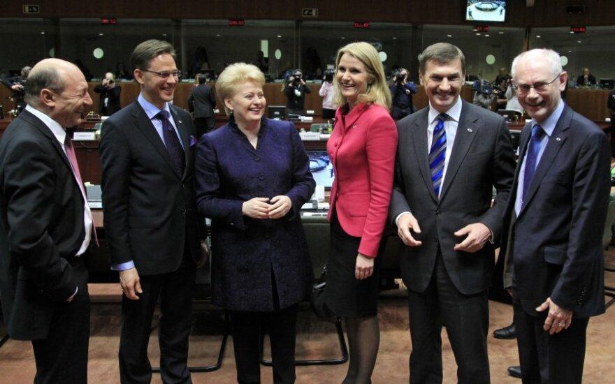 Dalia Grybauskaitė Europos vadovų taryboje