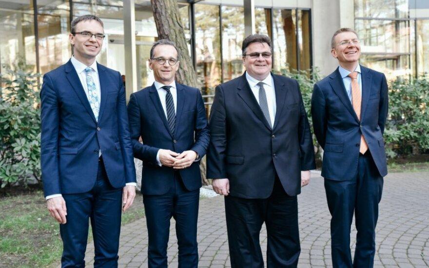 Ministrų susitikimas Palangoje: Baltijos šalys ir Vokietija yra suinteresuotos tęsti strateginį dialogą