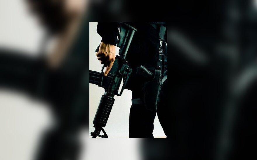 šauti, šautuvas, ginklas