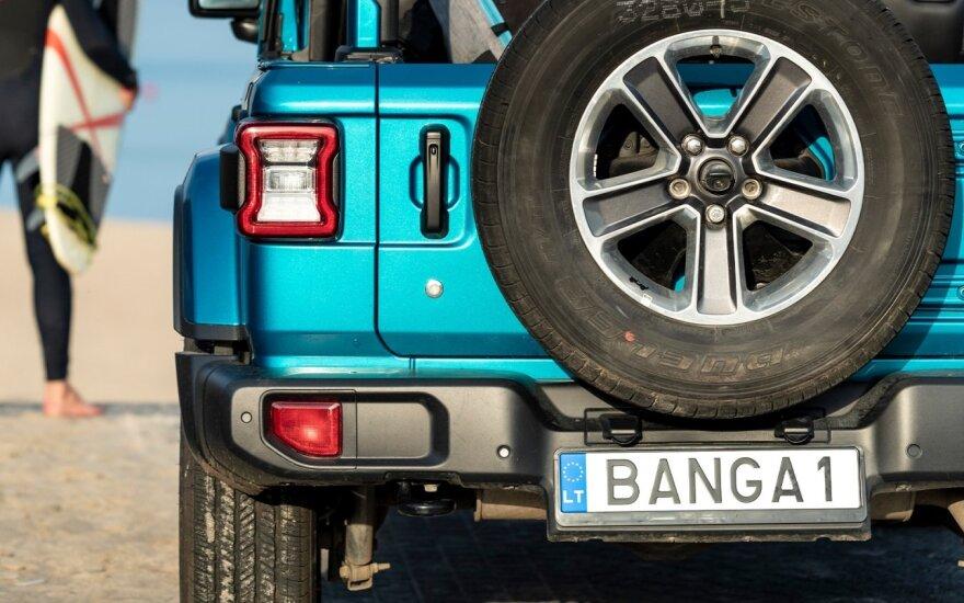 Vardiniai automobilio numerio ženklai