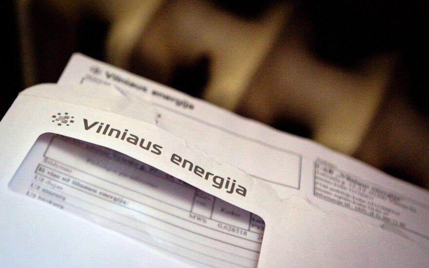 Energijos tiekėjai sąskaitas galės perskaičiuoti tik už du mėnesius