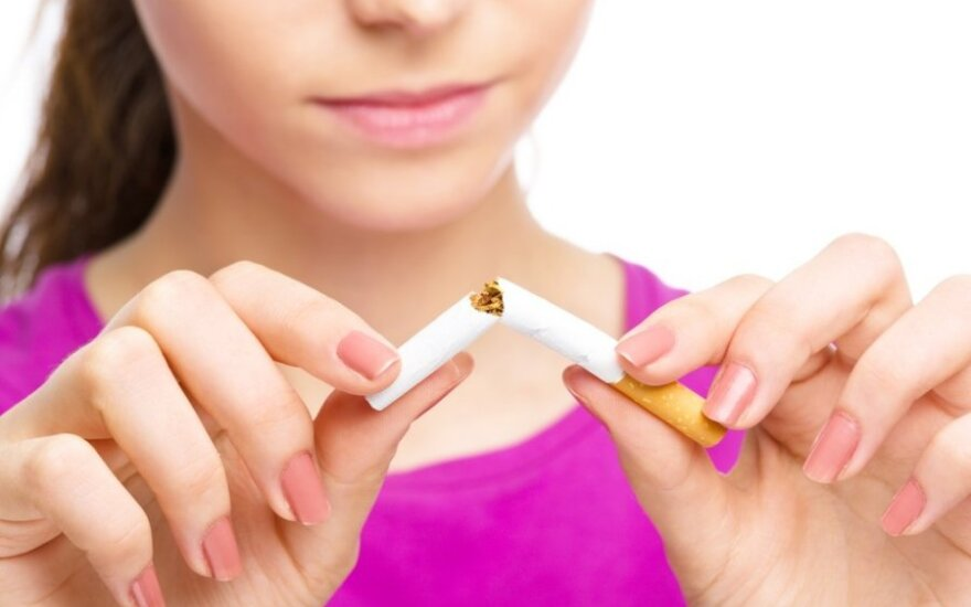 Uostamiesčio moksleiviai išdėstė savo motyvus nerūkyti