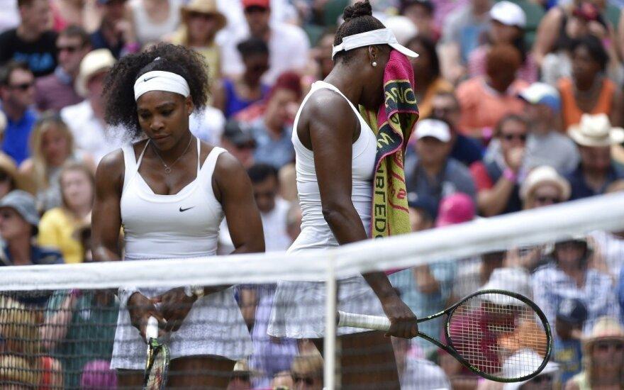 Serena ir Venus Williams