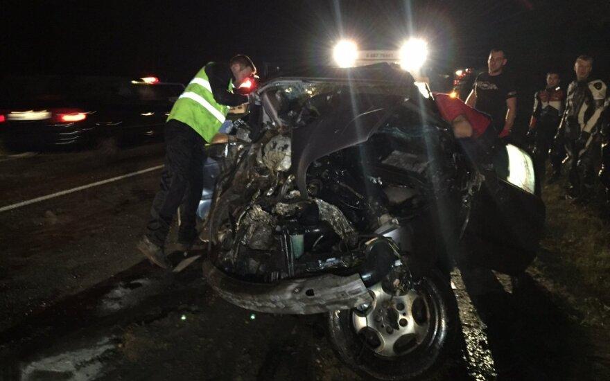 Siaubinga avarija prie Plungės: žuvo mama su dukryte, vyras mirė ligoninėje