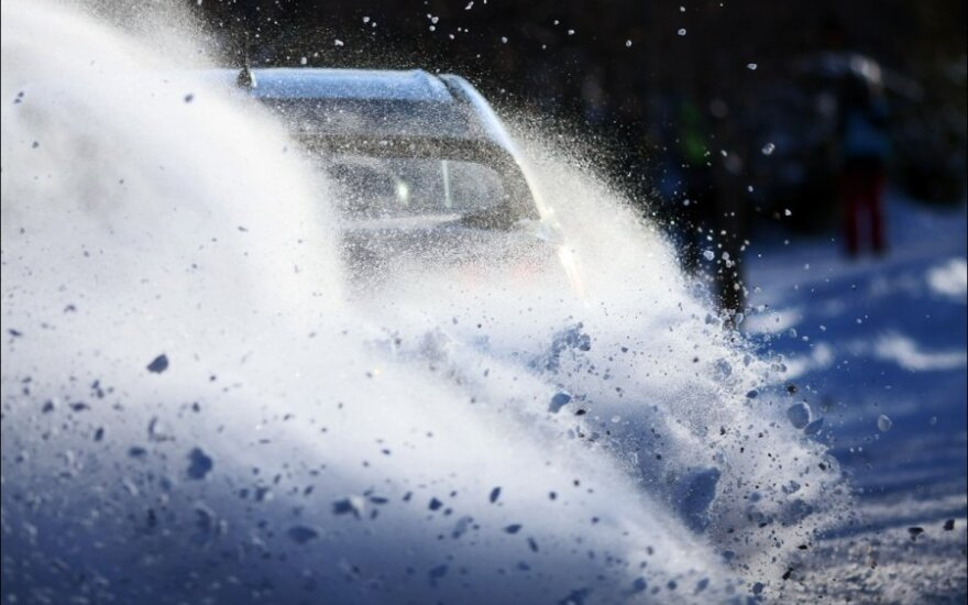 """Halls Winter Rally"" (G.Matulaičio nuotr.)"