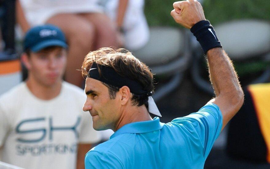 Federeris vėl taps pirmąja pasaulio rakete