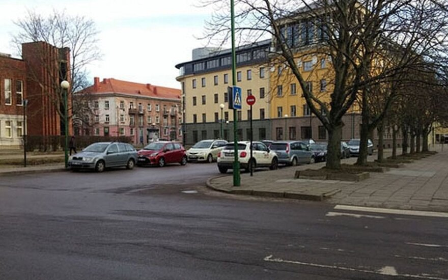 Vairuotojai šioje vietoje ypač nepaiso Kelių eismo taisyklių