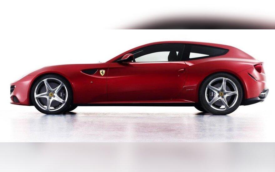 Ferrari Four (FF) concept