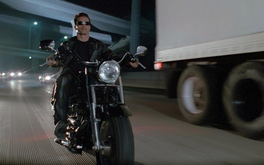 """Kadras iš filmo """"Terminatorius 2: Paskutinio teismo diena"""""""