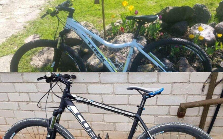 """Iš """"VW Transporter"""" pavogė du brangius dviračius – kreipiasi į visuomenę pagalbos"""