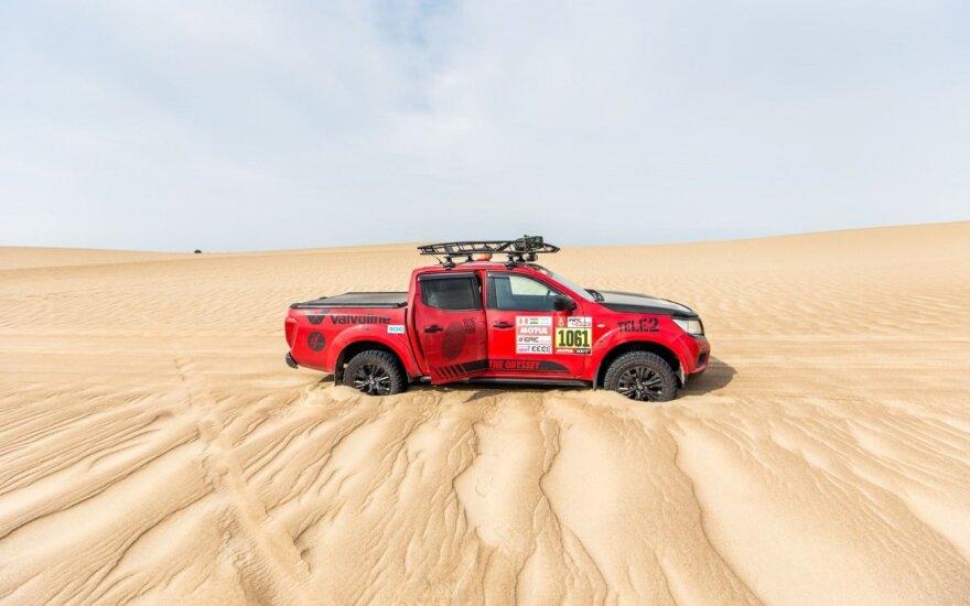 #iGo2Dakar nuotykiai Dakaro ralyje