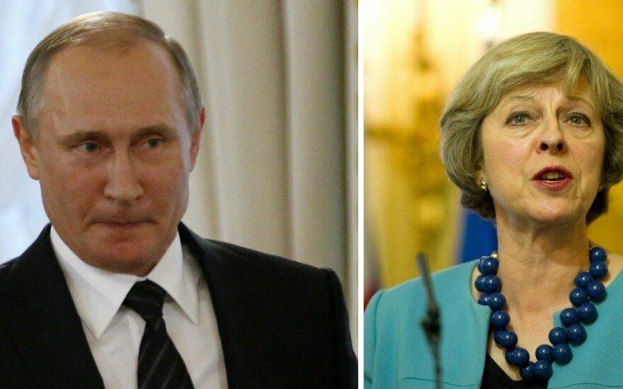 Bauginanti tendencija: Th. May nuolaidžiauja V. Putinui