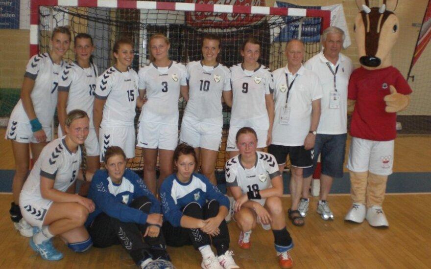 LKKA rankininkės - Europos universitetų sporto žaidynių vicečempionės