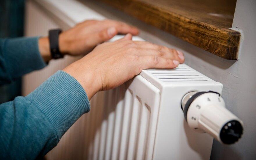 Spalio mėnesio sąskaitos už šilumą - 15 proc. mažesnės nei pernai