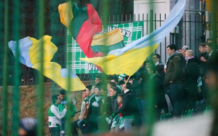 Lietuvos stadionuose – moralinė parama Ukrainai